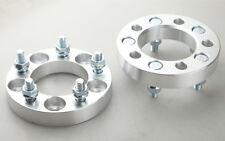 2PC 25mm 5x4.5 Wheel Spacers 1 Inch 5x114.3 Adapters 12x1.5 Studs Billet UK