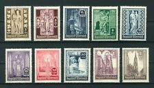 Austria 1946 St. Stephen's Cathedral Reconstruction Fund stamps MNH. Sg 992-1001