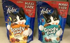 Purina Felix Goody Bag, Play Tubes, Crispies Treats Totally Tasty Mixed Flavours