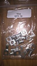 Battery, Earh Leads, 10mm x 6mm Copper Tube Crimp Terminals. *QTY 10*