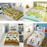 kids childrens duvet quilt cover bedding set and pillowcase boys girls double