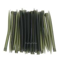 30pc 53mm Soft Rubber Anti Tangle Sleeves Hook Carp Fishing Terminal Tackle Rigs