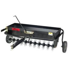 Tow Behind Aerator Spreader Combination 40 in. Lawn Steel Frame *New*