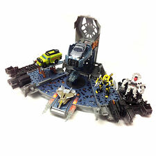 TRANSFORMERS Cyberverse ARK Spaceship Open Up Playset Ship plus Figures
