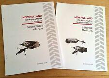 New Holland 489 Haybine Mower Conditioner Operators And Servicerepair Manual