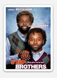 Cleveland Browns MAGNET - Odell Beckham and Jarvis Landry NFL OBJ Step Brothers