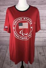 RALPH LAUREN POLO 2012 United States Olympic Team US RED XL Custom Fit TShirt