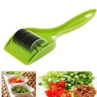 Multi-purpose Vegetable Slicer Cutter Green Onion Chopper Roller Blade Shredder