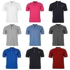Slazenger Mens Polo shirt Gym Fitness Running Crew T Shirt S M L XL XXL 3L 4XL