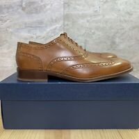 Cole Haan Williams Wingtip II Oxford Size 11 Mens Bristish Tan Casual Shoes