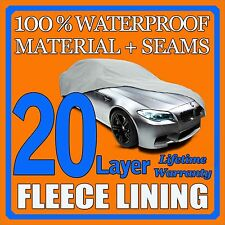 20 Layer Car Cover Waterproof Layers Outdoor Indoor Fleece Lining Sia17