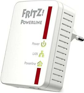 dAVM FRITZ! 510E POWERLINE DLAN 500 MBit/s Adapter Steckdose Ethernet-LAN Single