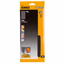 DeWalt DT3032 25 X 80 Grit 115 mm Palm Sander Feuilles abrasives DWE6411