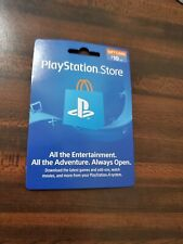 Play Station $10 Gift Card Fast Email Delivery
