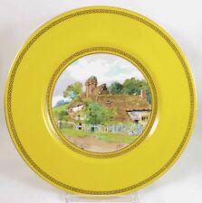 ANTIQUE MINTON SHREVE CHINA PA1551 HAND PAINTED JE DEAN PORTRAIT DINNER PLATE #1