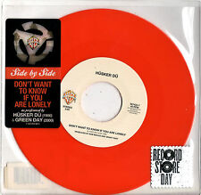 HUSKER DU - GREEN DAY don't want to know if you 45RPM orange vinyl RSD 2011
