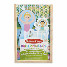 Melissa and Doug Ballerina/Fairy Magnetic Dress-Up Play Set #30322
