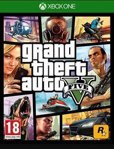 GTA 5 XBOX ONE NUOVO (leggi Descrizione) no CD no DVD