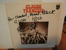 """claude françois-lp12"""".fr.or.ph/logo fléche:844803.biem.1969-dédicacé par claude"""