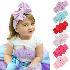 6PCS Baby Girl Headband Kids Elastic Hairband Hair Accessories Newborn Bowknot