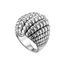 JOHN HARDY Bedeg Sterling Silver Large Dome Ring Size 6