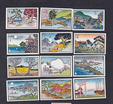 Série étiquettes allumettes Japon BN58857 Arbre Bateau
