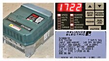 RELIANCE ELECTRIC GV3000/SE 7.5 HP 7V4160 FIRMWARE 6.06 AC DRIVE TESTED GOOD