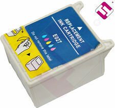 TINTA TRICOLOR T027 PARA IMPRESORA STYLUS PHOTO 830U CARTUCHO COLOR NONOEMEPSON