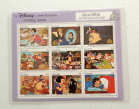 The Disney Classic Fairytales In Postage Stamps SNOW WHITE Vintage Issue 3857