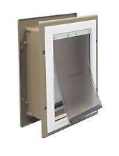 MEDIUM PetSafe Aluminum Frame Wall Mount Entry Pet Dog Doors, FREE SHIPPING, NEW