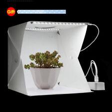 Mini Photo Studio Photography Lighting Room Tent Cube Box With 2 LED Light Kit