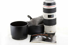 Lens Canon EF 70-200mm 1:4 L IS USM for EOS 700D 80D 7D 5D 1Ds 1D (4L f/4)