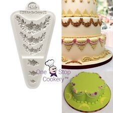 Katy Sue ROSE MEDLEY Silicone Sugarcraft Mould Creative Cake System