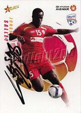 ✺Signed✺ 2008 2009 ADELAIDE UNITED A-League Card JONAS SALLEY