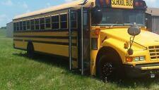 2005 BLUE BIRD CATERPILLAR C7 6 CYLINDER TURBO DIESEL 71 PASSENGER SCHOOL BUS