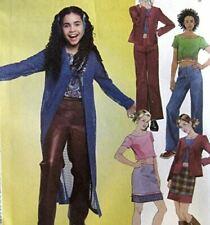 6424 vestido de la tapa de Niño Chaleco /& Knit Leggings Patrón De Costura nuevo aspecto de la edad de 3-8