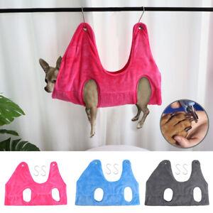 Pet Cat Dog Helper Hammock Scratching Pads Soft Plush Adjustable Harness Vest