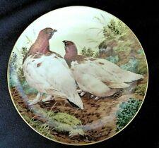 Assiette en porcelaine the forest year Novembre Perdrix