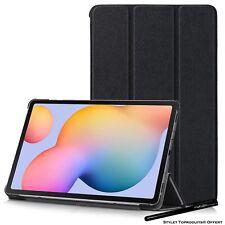 "Coque Smart Noir Premium pour Samsung Galaxy Tab S6 Lite 10.4"" SM-P610"