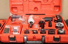 Milwaukee M18 Force Logic 10t Knockout Tool Kit 12 2676 23