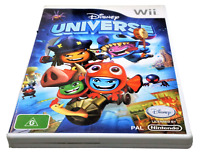 Disney Universe Nintendo Wii PAL *Complete* Wii U Compatible