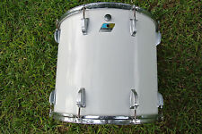 "70's/80's Ludwig USA CLASSIC 18"" WHITE CORTEX RACK TOM for YOUR DRUM SET! #A358"