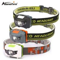 4 Modes 8000LM R3+2 led Headlight Headlamp Bike Bicycle Light With Headband