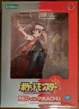 Kotobukiya ARTFX J Pokemon Red with Pikachu PVC Complete Figure japan