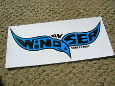 Large wind an sea surfboards surfing surfer surfboard sticker longboard 1960s ca