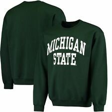 Michigan State Spartans Fanatics Branded Basic Arch Sweatshirt - Green
