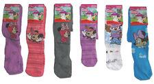 Disney Mädchen-Socken & -Strümpfe mit Zeichentrick/Spaßmotiv