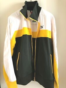 Puma Heroes Track Forest Night Jacket Men's Size L Nwt $80