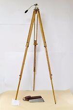 Vintage Berlebach Holzstativ mit Neigekopf wooden tripod with swivel head N12