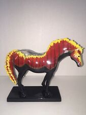 Trail of Painted Ponies WILDFIRE, 1E, Black Box,Very Rare, Fire Horse